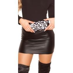Sac ceinture imprimé léopard blanc