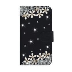 Étui pour iphone noir avec strass