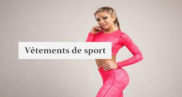 vêtement de sport femme
